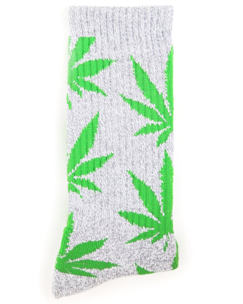 the Plantlife Socks 2 Grey/green