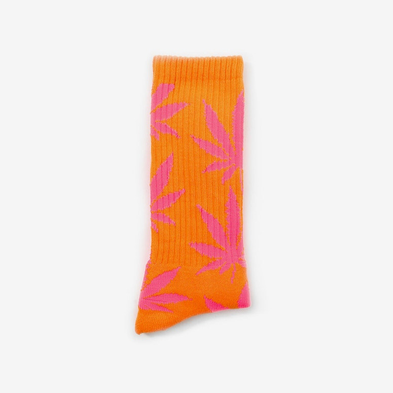 Glow in the Dark Sock Orange/pink