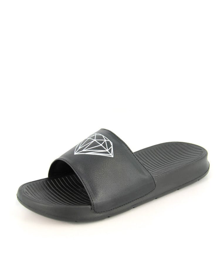 483d977d326d Diamond Supply Fairfax Slide Black – Culture Kings