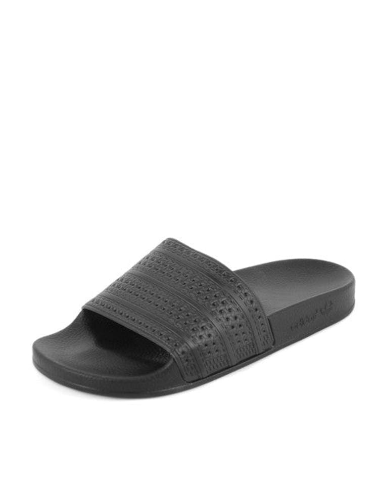 e002c9795 Adidas Originals Adilette Slides Black black red – Culture Kings