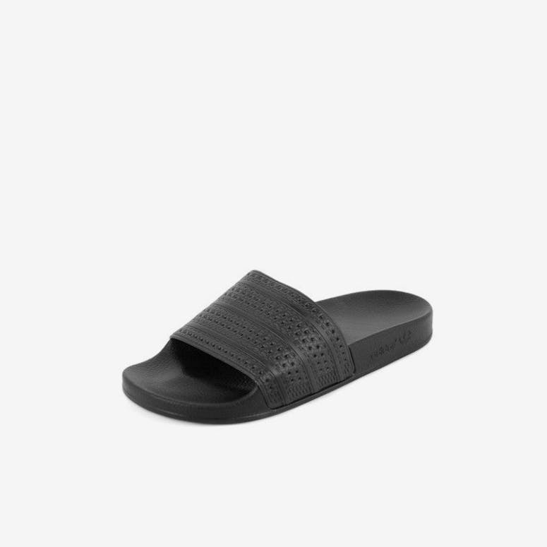 reputable site bfb0a 49267 Adidas Originals Adilette Slides Blackblackred – Culture Kin