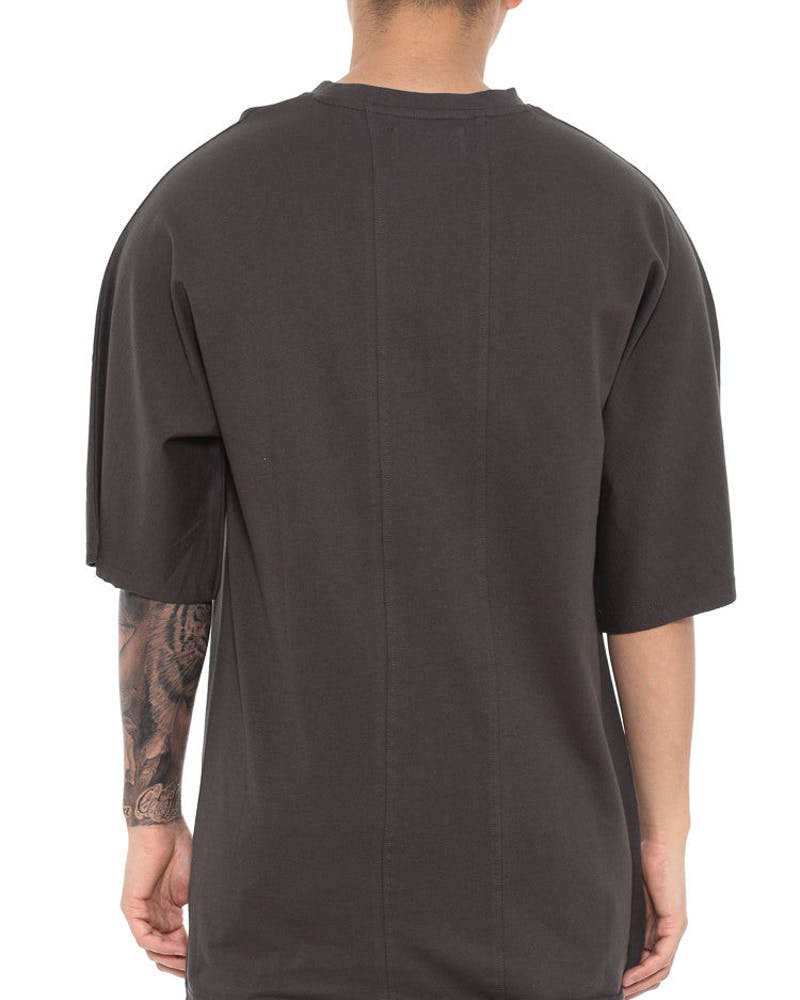 Worse for Wear Batwing Tee Charcoal
