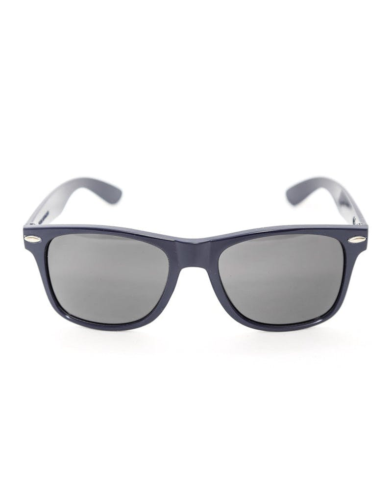 Cyrillic Logo Sunglasses Navy
