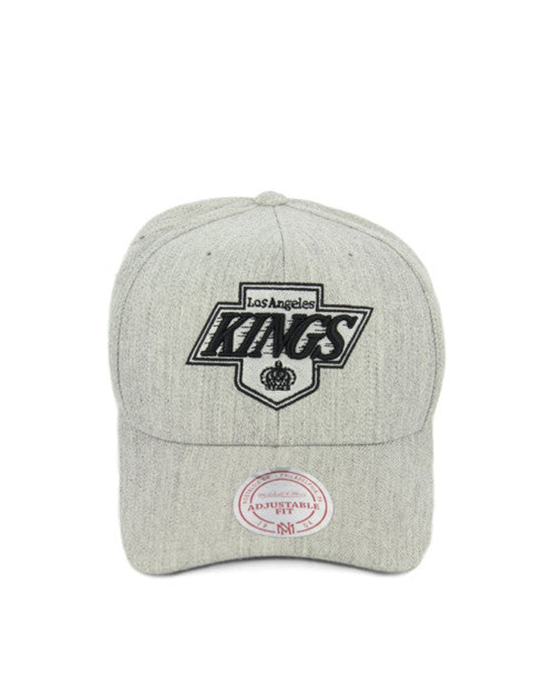 Kings 110 Black Logo Snapback Grey