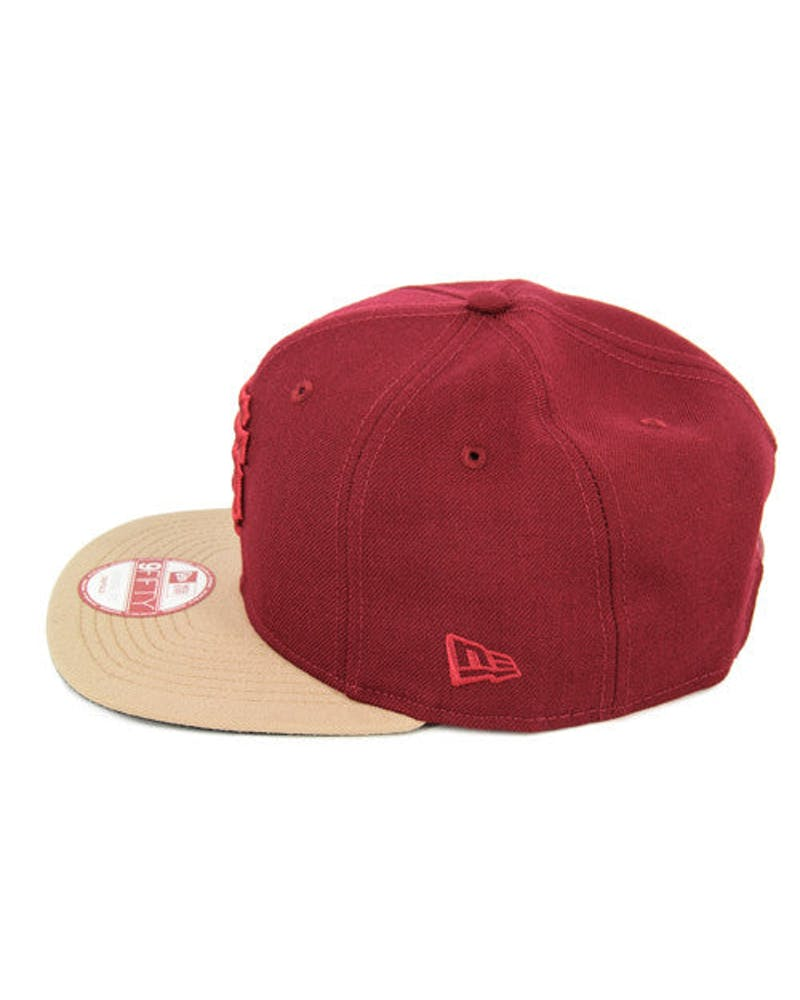 Giants Original Fit Snapback Cardinal/wheat