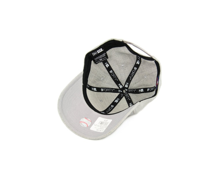 White Sox 940 Heather Snapback Heather Grey