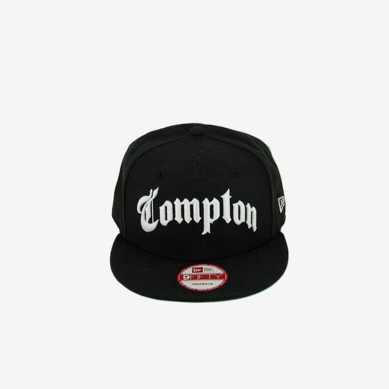 8b93bba5f44 New Era Compton Snapback Black white – Culture Kings