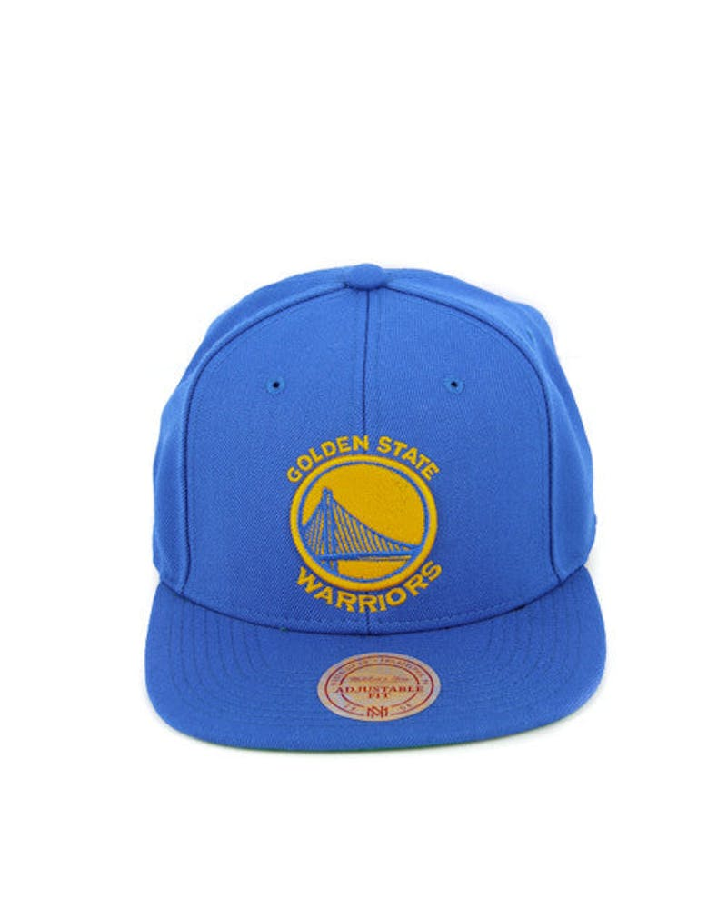 Golden State Wool Solid Snapback Blue/yellow