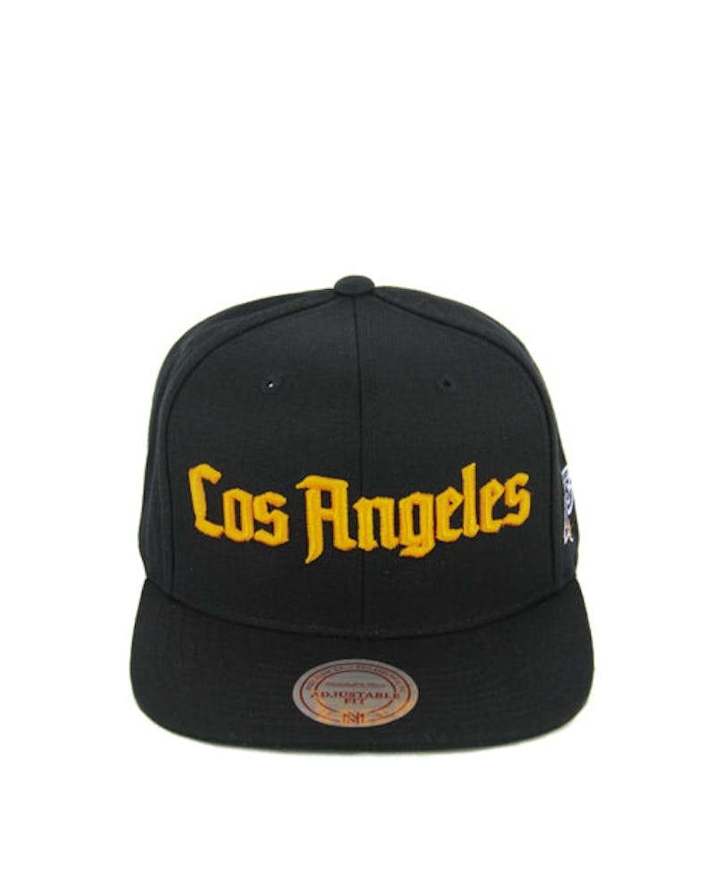 Lakers Gothic City Snapback Black