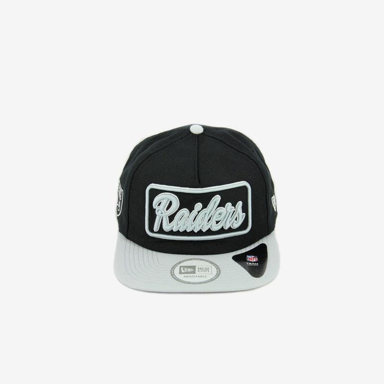 New Era Raiders 2 Tone Biller Snapback Black grey – Culture Kings 0e7ad1b95