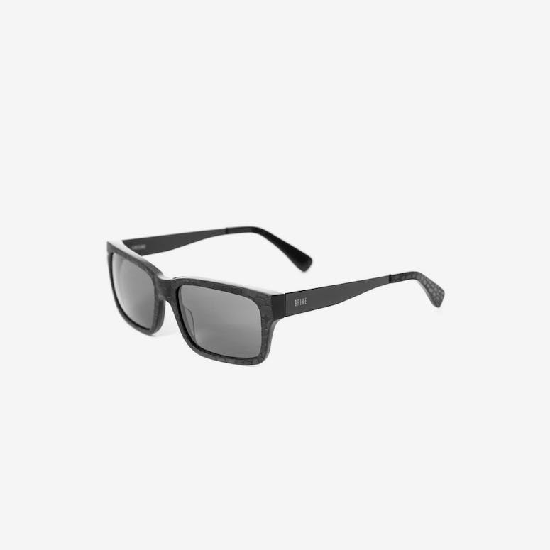 Greens Croc Sunglasses Black/red
