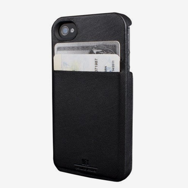Solo Wallet Iphone4 Black/brown