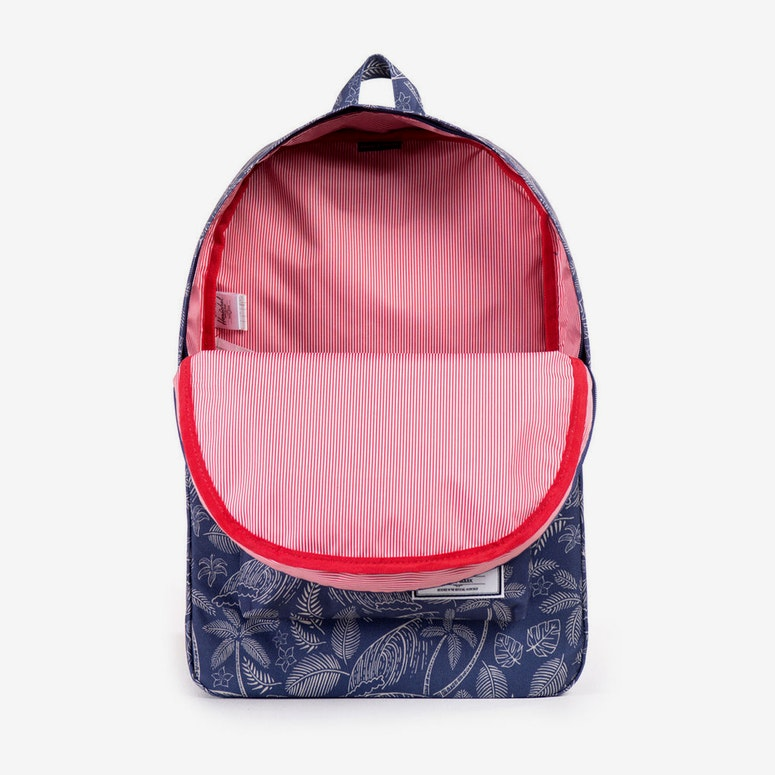 Classic Backpack Navy/white