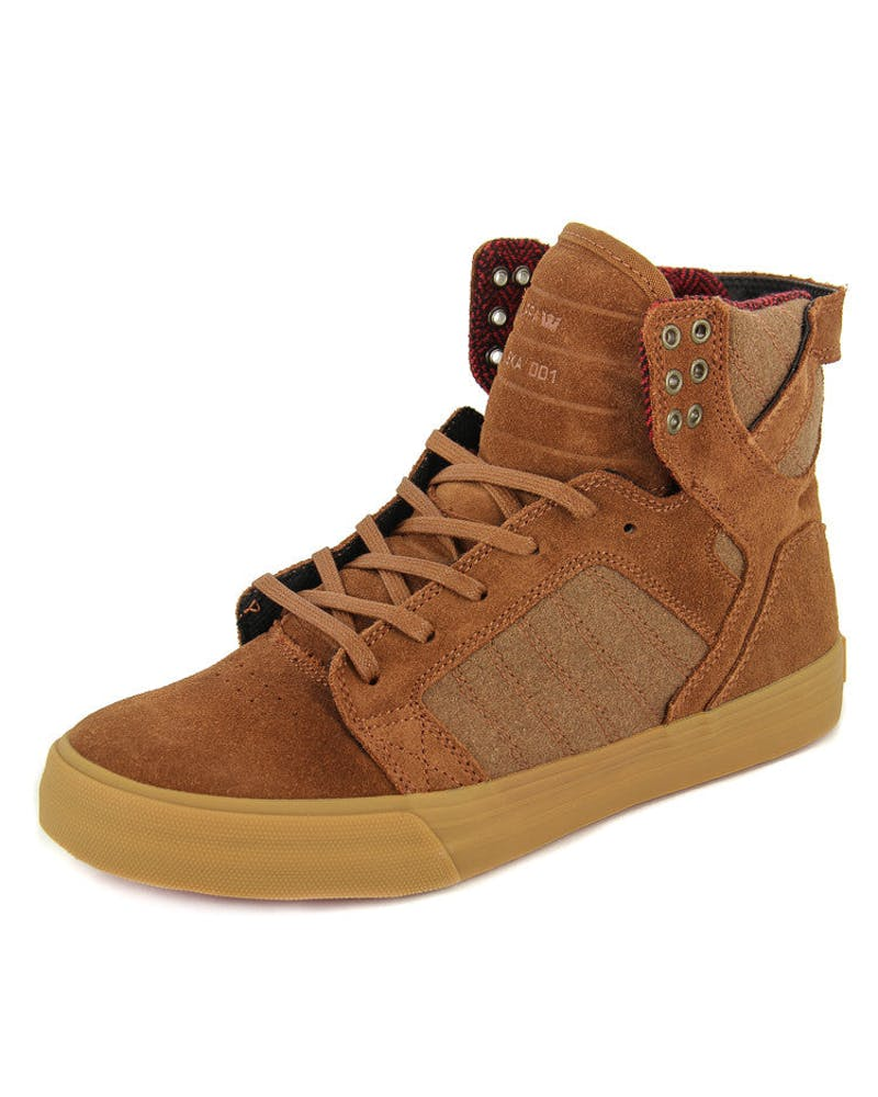 Skytop Brown/gum/red