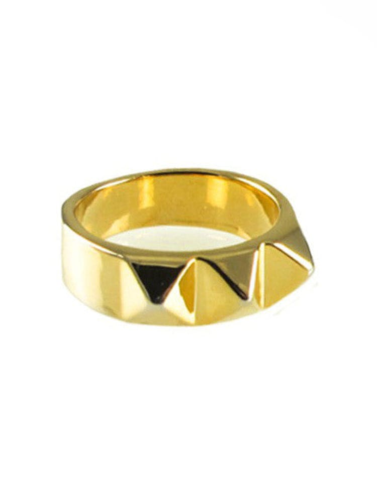 Big Spike Ring Gold