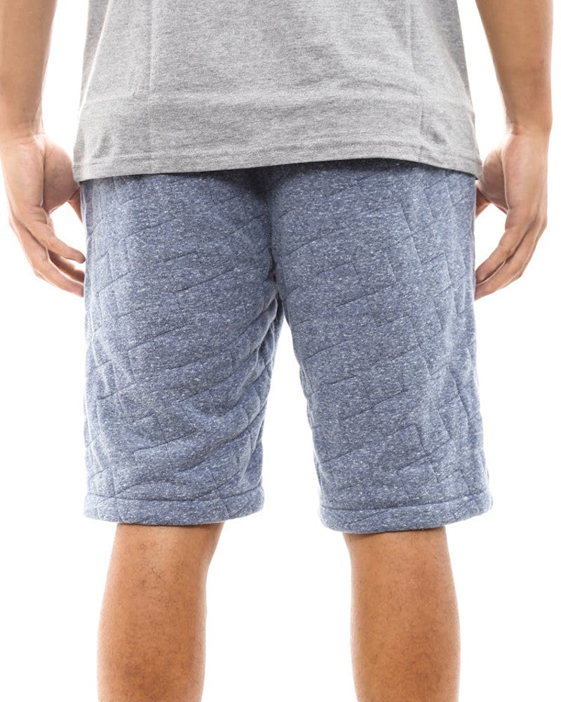 Quilted Terry Shorts Navy