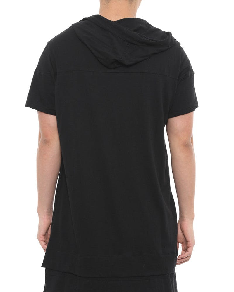 Essential Layered Hood Black/charcoal