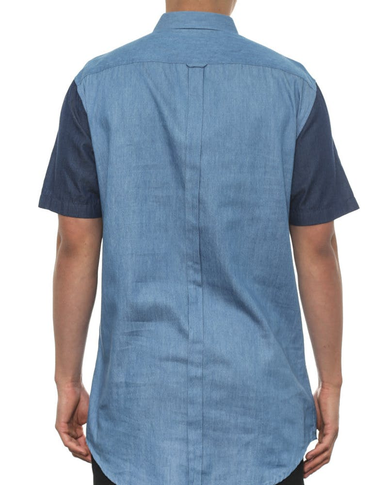 Tall Denimx Button up Indigo