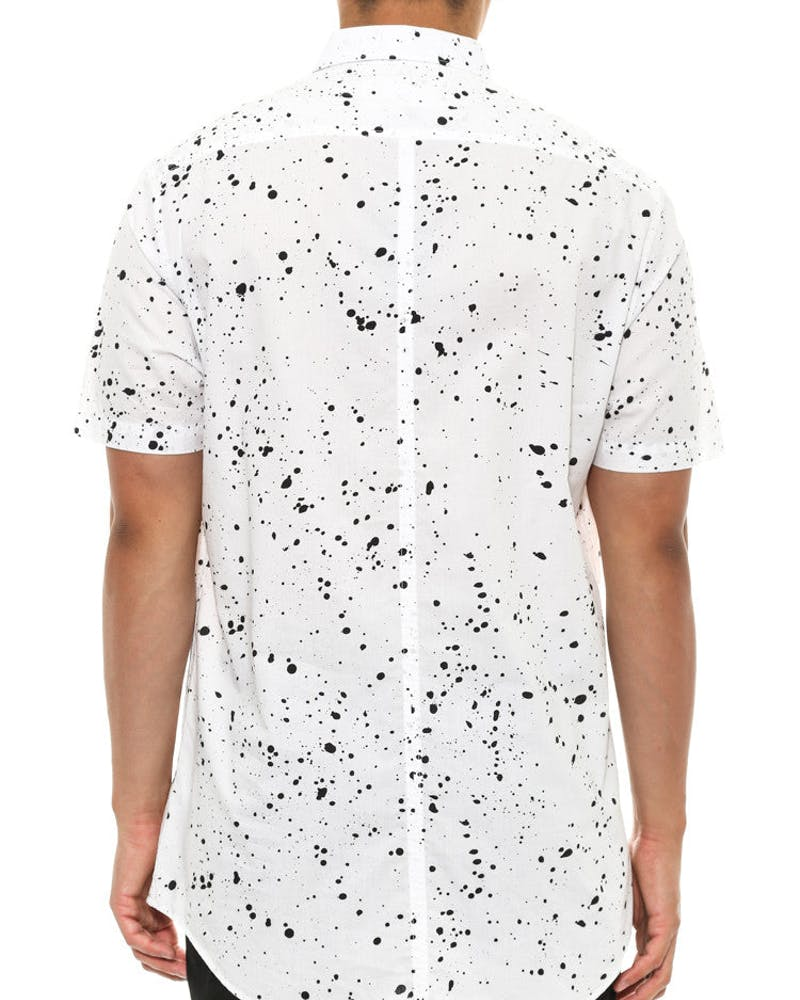 Splat 7ft Short Sleeve White/black