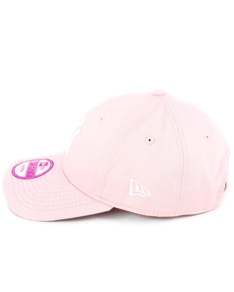New Era Yankees 9FORTY Strapback Pink/white