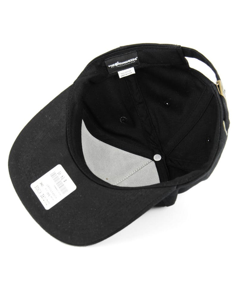 Patch Strapback Black