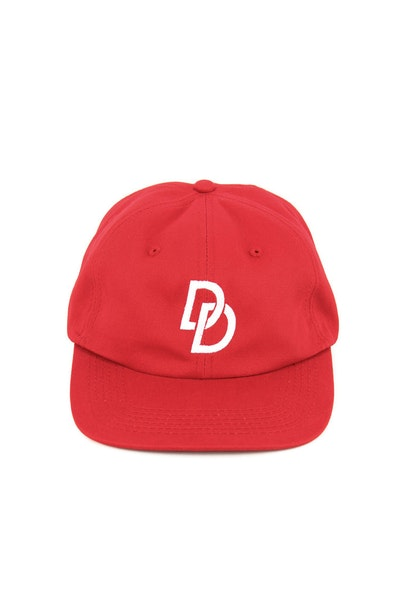 Strike Out Strapback Red