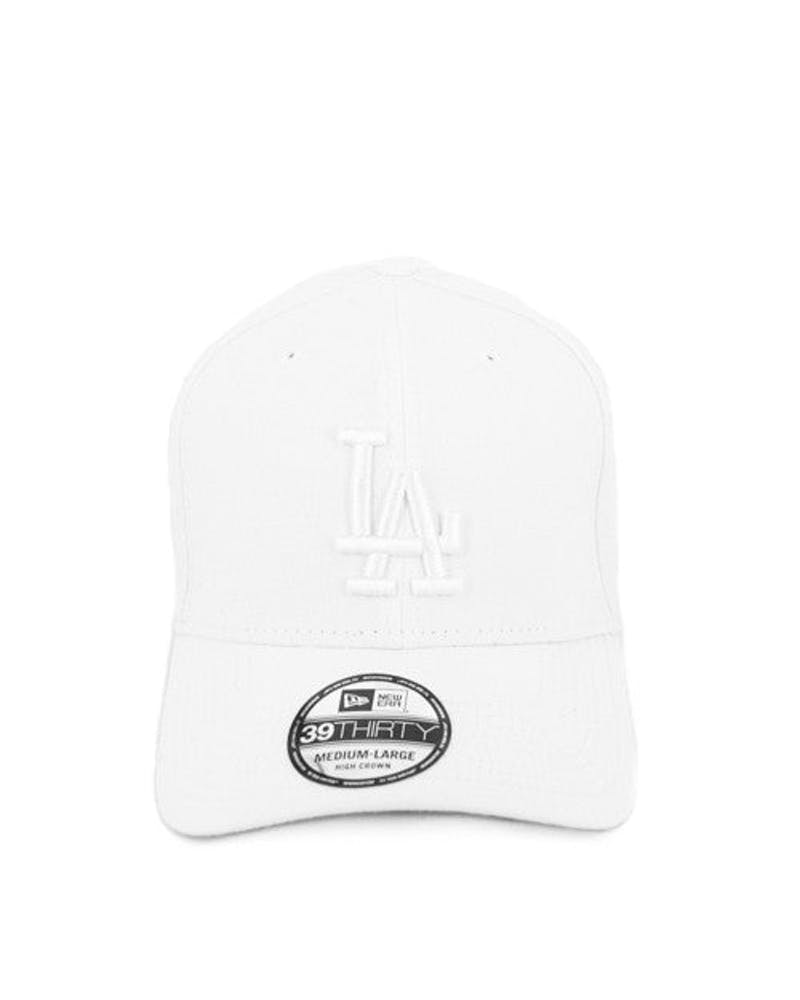 Dodgers High Crown 3930 White/white