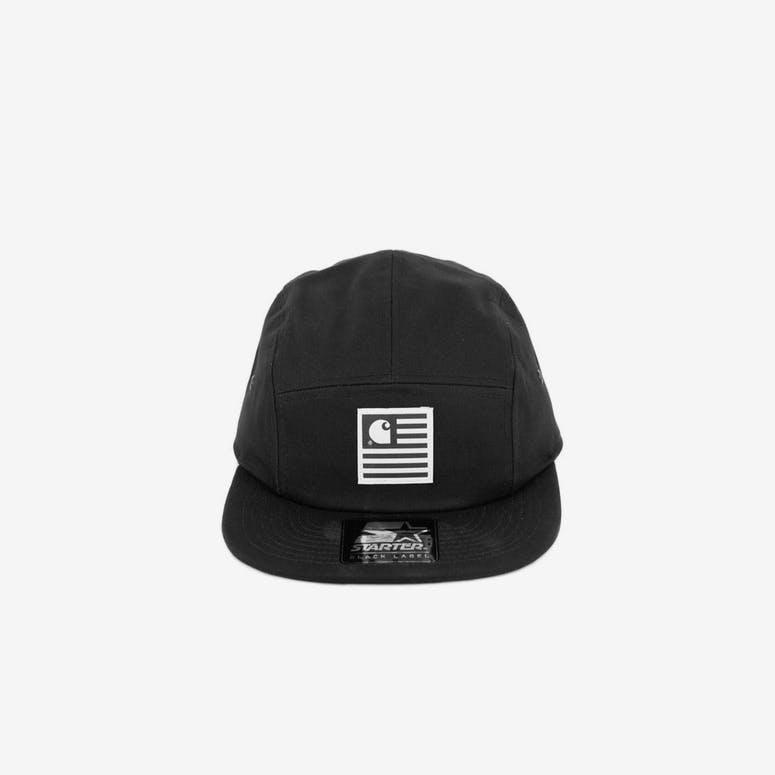 e1317ee7530 Carhartt State Starter Cap Black white – Culture Kings
