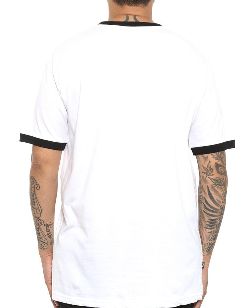 Contrast SS Tee White