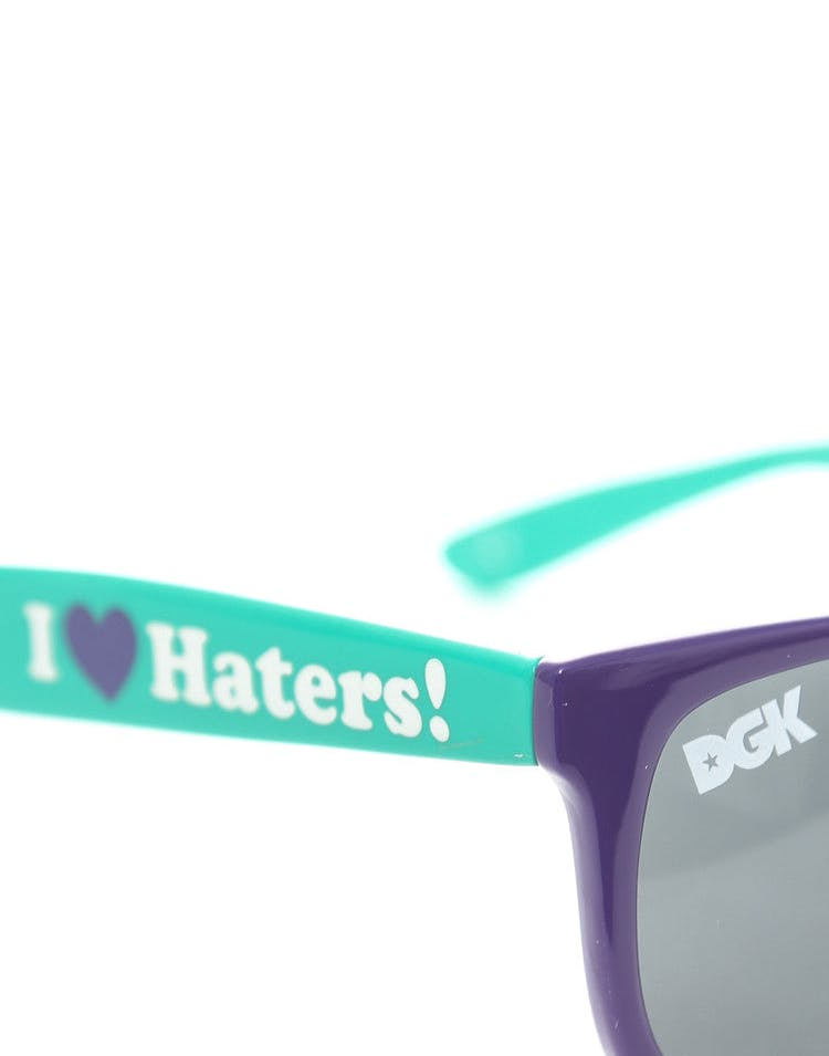 Haters Sunglasses Purple/teal