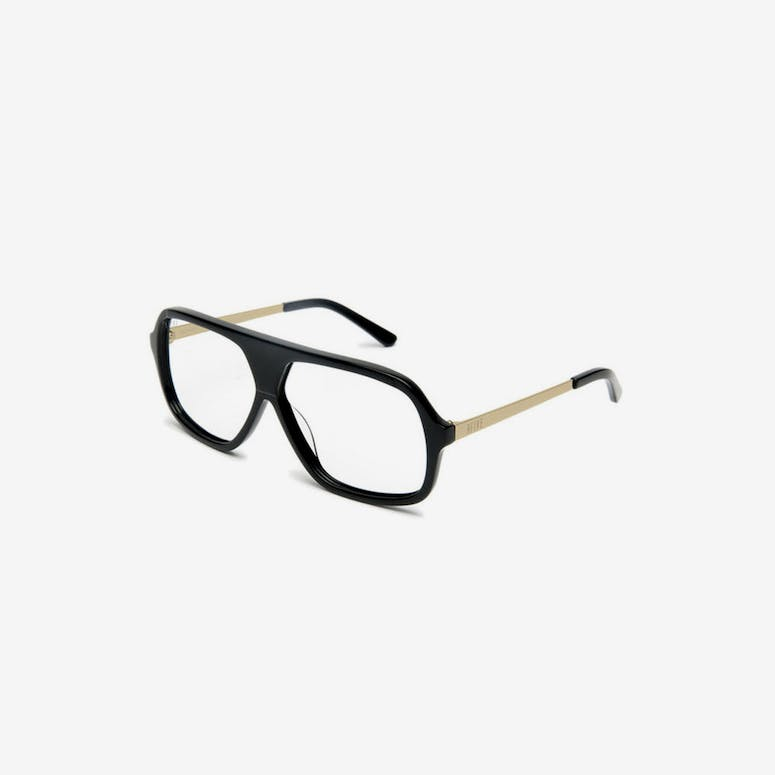 Crowns Sunglasses Black/gold/clea