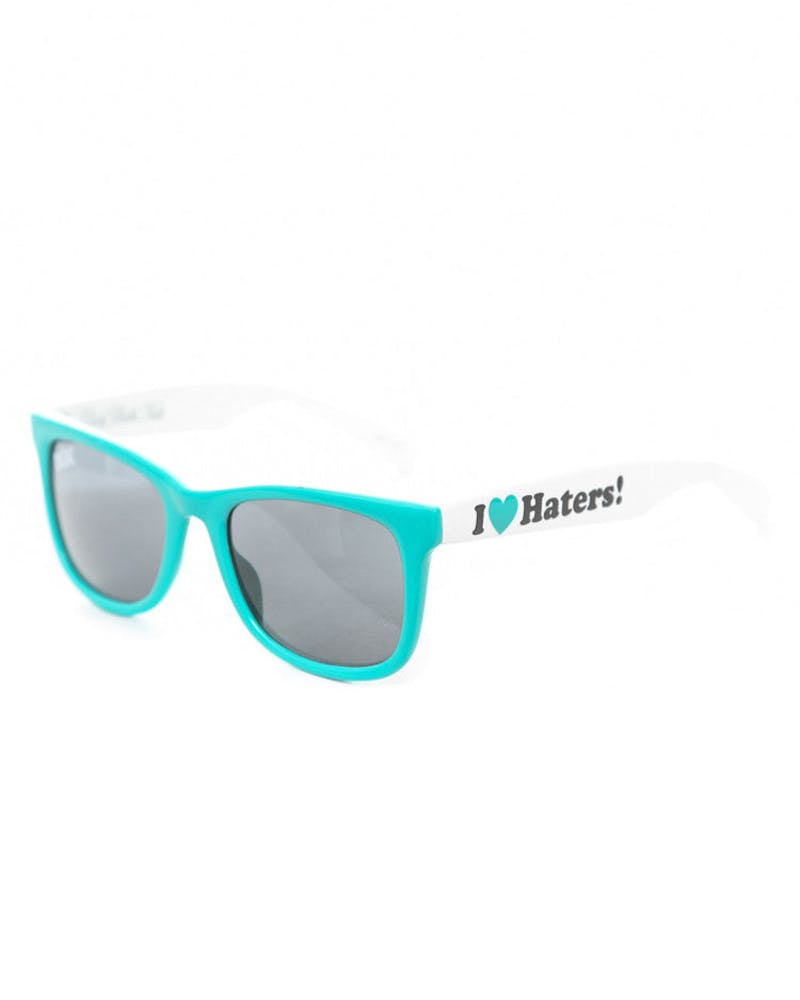 Haters Sunglasses Teal/white