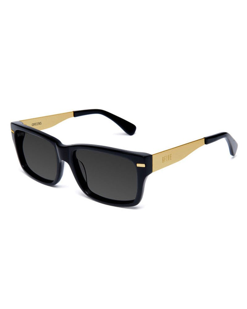 Greens Sunglasses Black/gold