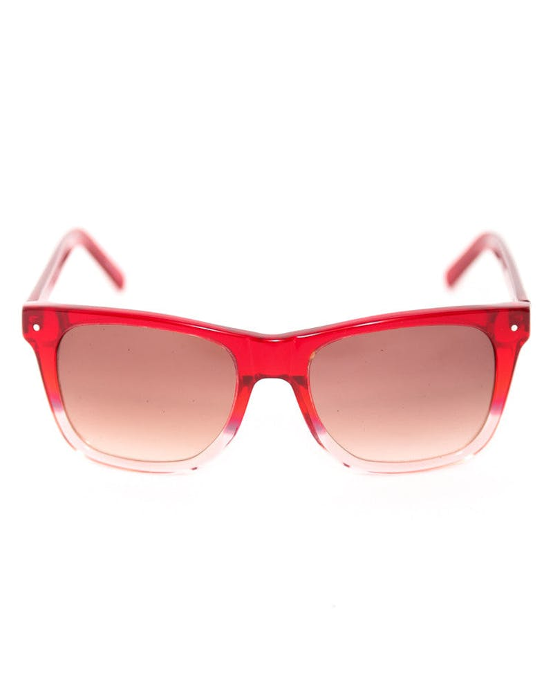 Vermont Sunglasses Red