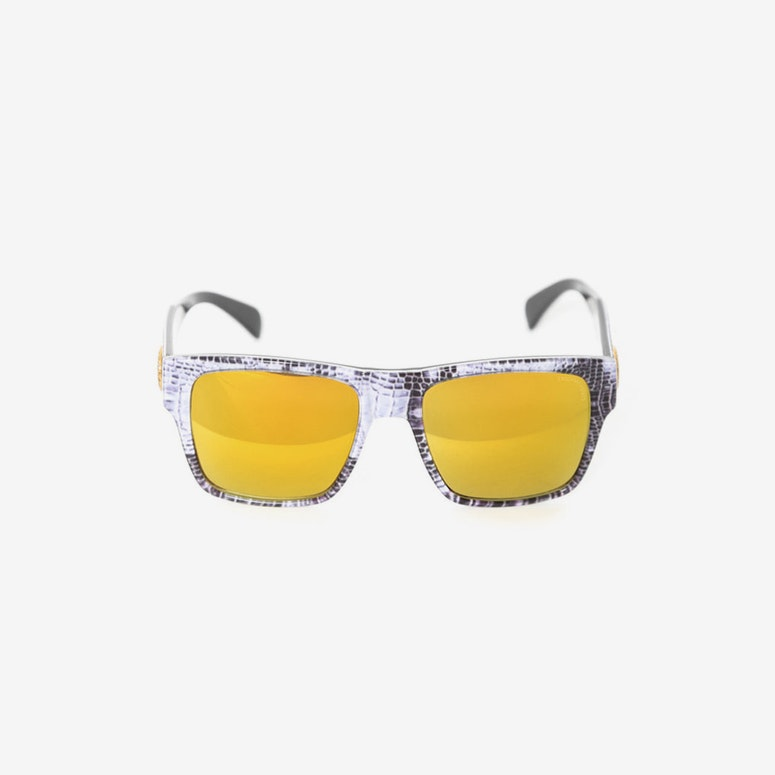 Violento Sunglasses Black/croc