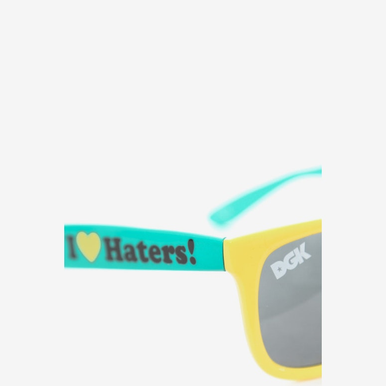 Haters Sunglasses Yellow/green