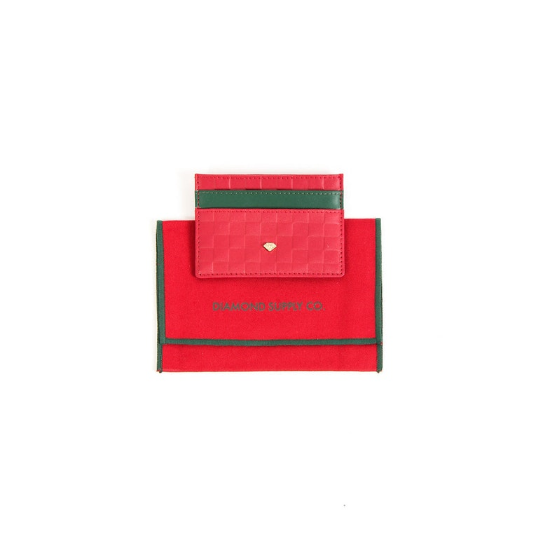 Card Holding Wallet Red/green
