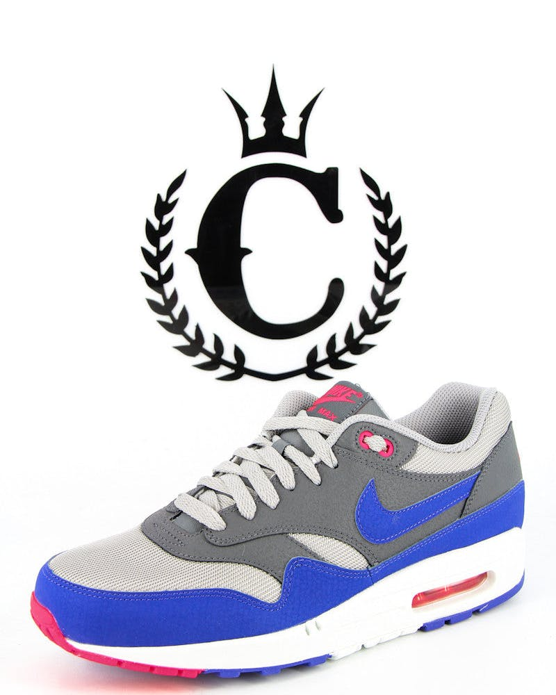 Air Max 1 S Essential Grey/purple/pin