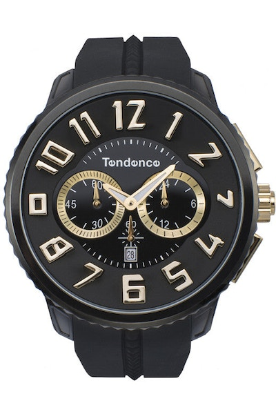 Gulliver Round Chrono Black/gold