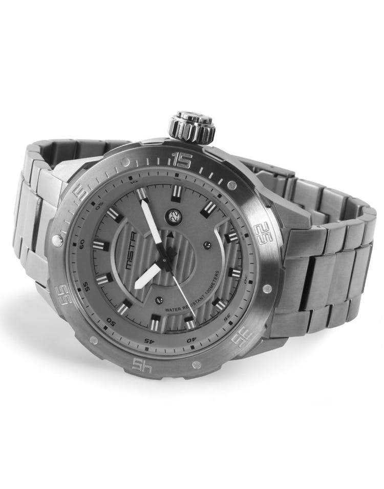 Diver One SS Band Titanium Grey