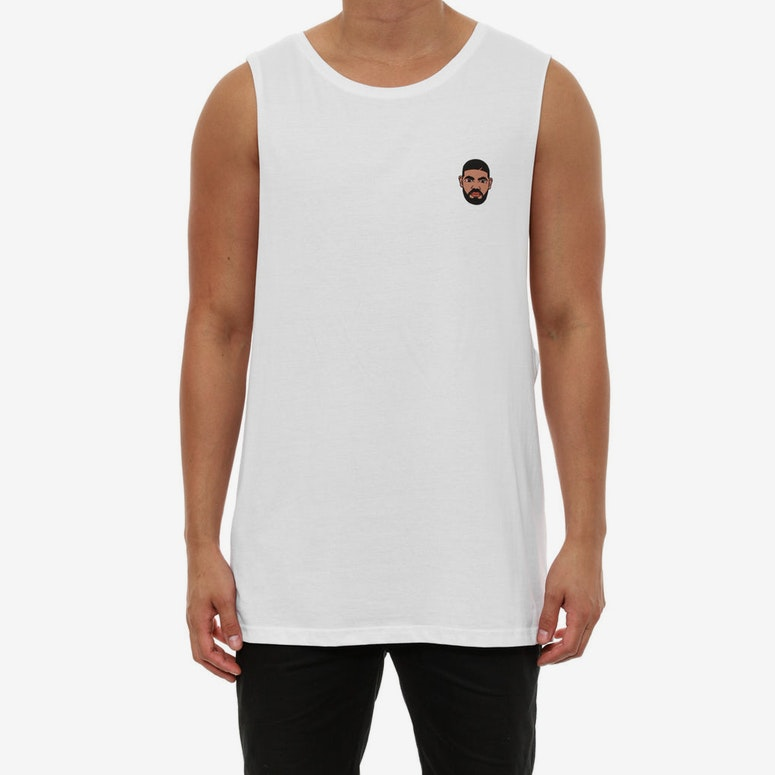 Drizzy Mini Muscle White