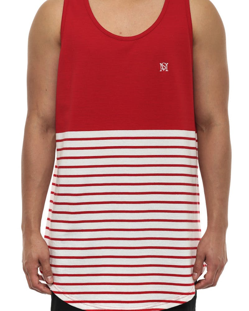 Ruler Tank Red/white