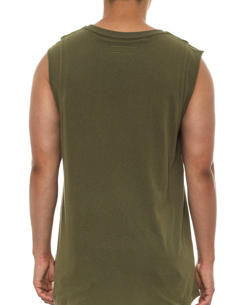 Marr Tank Army Green
