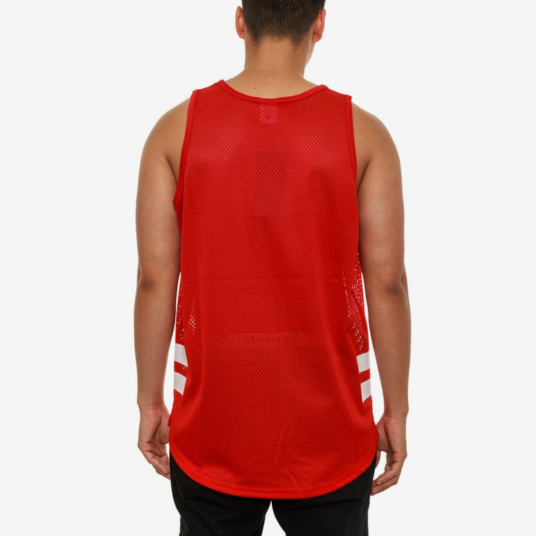 Squad up Tank Top Red