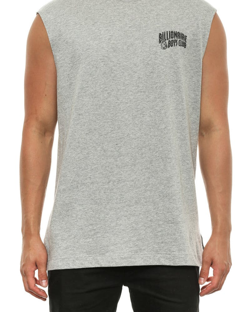 Small Arch Logo Muscle Tank Grey/black