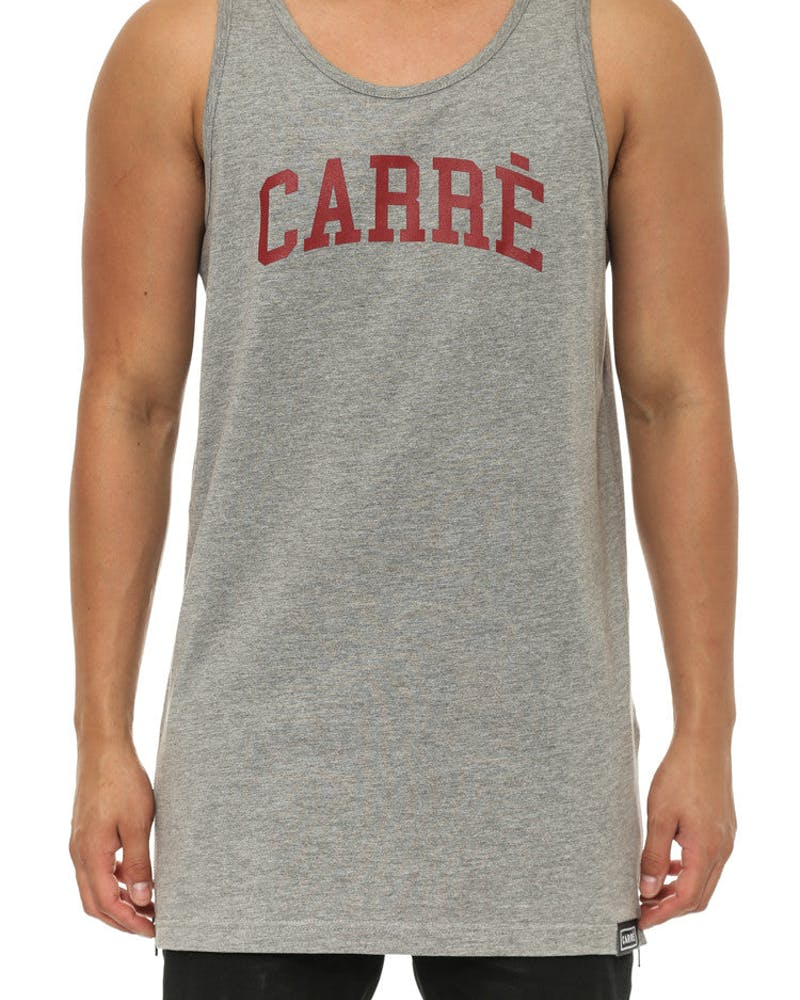 Trevail Capone Singlet Grey Heather