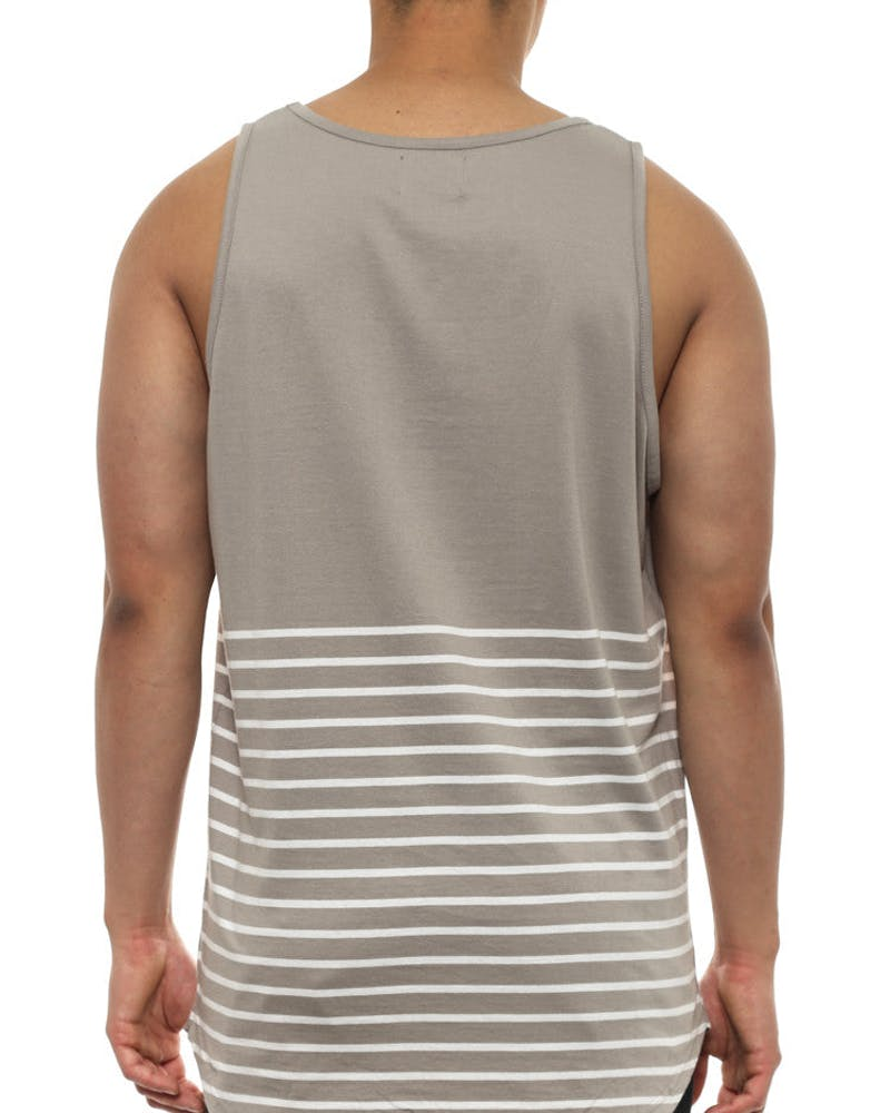 Ruler Tank Grey/white