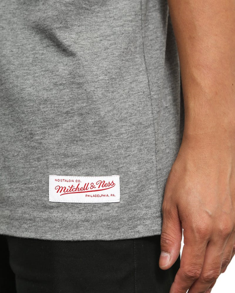 Bulls Team Logo Muscle Grey