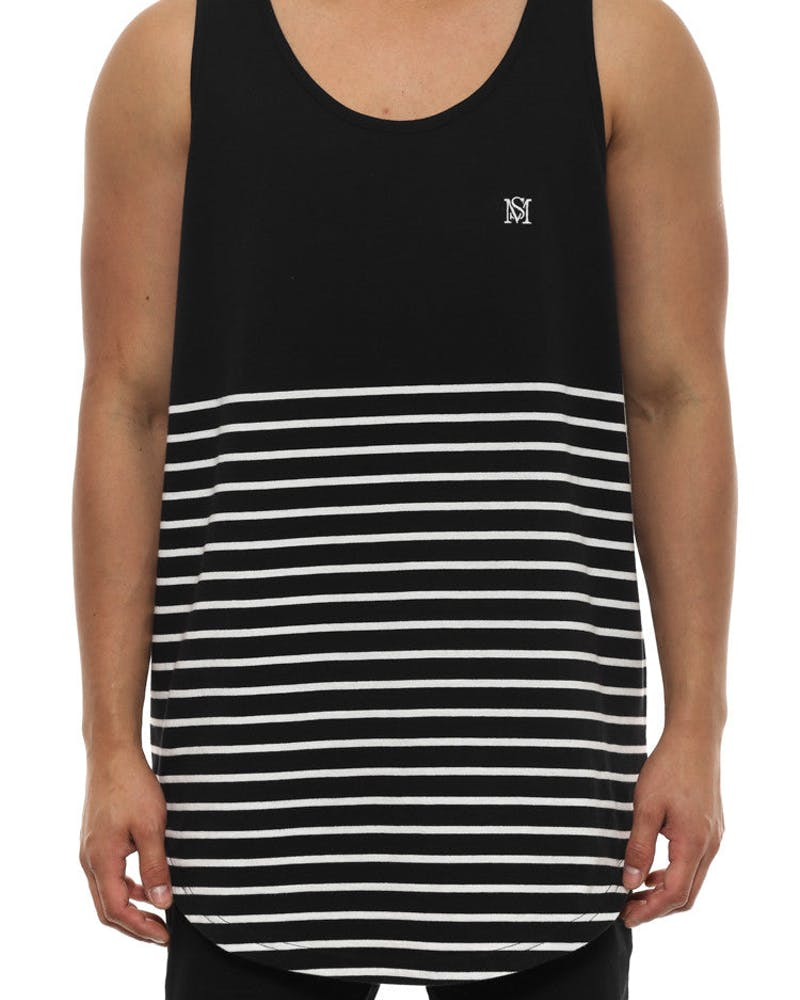 Ruler Tank Black/white