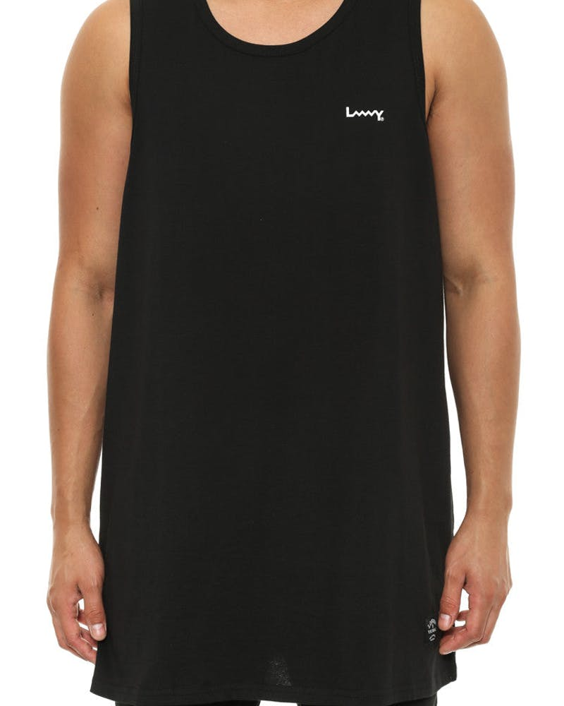 808 Layer Singlet Black